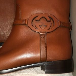 BRAND NEW WITH BOX: GUCCI RIDING BOOTS